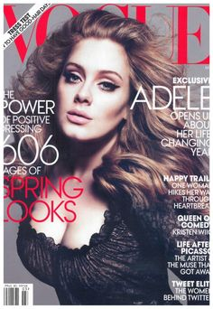 Adele, Vogue March 2012..
