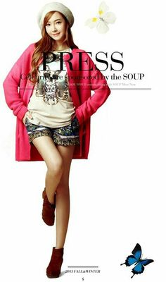 Jessica SNSD ★ Girl Generation for SOUP