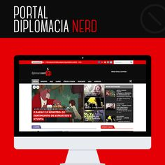 #Trabalhos: o portal do Diplomacia Nerd (visite: http://diplomacianerd.com.br/) foi desenvolvido em Wordpress, totalmente responsivo, com design e layout alinhados com o cliente. Faça seu site, blog ou portal conosco também, envie seu projeto para o e-mail: contato@zeroseum.com. #SuaMarcaNoMundo #SeuPortalNoMundo