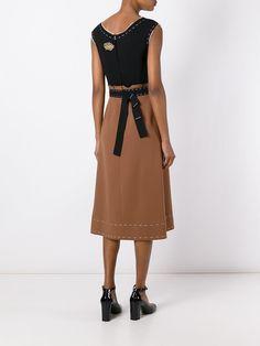 Dolce & Gabbana Платье с Заплаткой 'Wonderland' - Farfetch