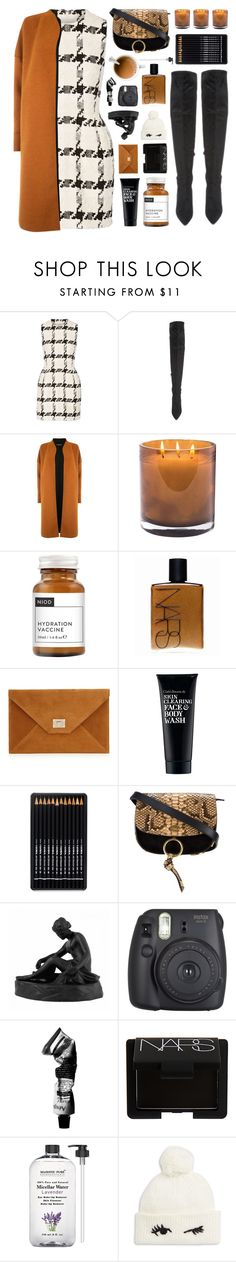 """""""Monday"""" by fee4fashion ❤ liked on Polyvore featuring Alexander McQueen, Kendall + Kylie, Warehouse, Laura Mercier, Niod, NARS Cosmetics, Clark's Botanicals, Chloé, Wedgwood and Fujifilm"""