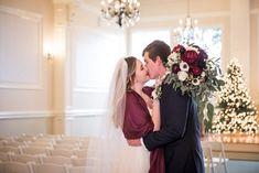 The Kiss | Travis and Haley G Photography | Christmas