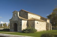 San Juan de Baños, Baños de Cerrato, Palencia. Iglesia votiva. Arte visigodo. S. VII. Recesvinto