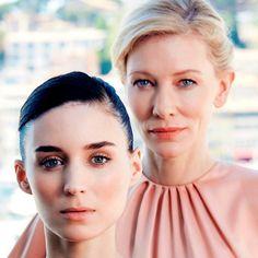 Rooney Mara and Cate Blanchett for People Magazine