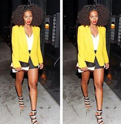 Natural Hair Styles Pictures #NaturalHair Solange