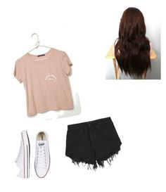"""Untitled #3"" by isabella-rose-silvestro on Polyvore featuring Nana Judy and Converse"