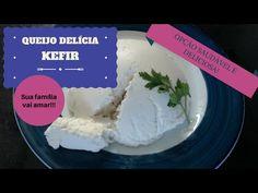 Queijo Delicia de Kefir, aprenda a fazer o seu!!! - YouTube