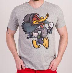 Camiseta Cavalera Pica-Pau Cinza