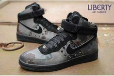 The Nike Liberty of London Collaboration is Rugged #sneakers trendhunter.com