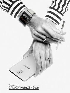 Sandro + Samsung on Behance