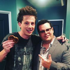 | Charlie & Josh | Charlie Puth & Josh Gad backstage at the Late Late Show!