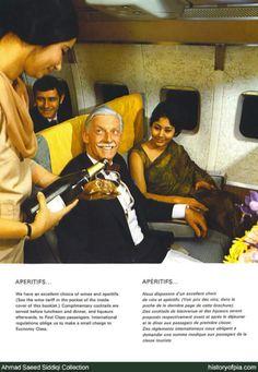 #Pakistan International Airline menu (luxury traveler)