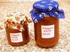 fűszeres körtelekvár Pho, Pickles, Stuffed Mushrooms, Vegetables, Gifts, Winter, Cook, Jelly, Stuff Mushrooms