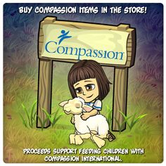 Journey of Jesus supports Compassion! Come on over and see!  https://www.facebook.com/JourneyOfJesus