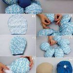 Hottest Absolutely Free Fabric Crafts pillows Tips , Scrap Fabric Projects, Fabric Scraps, Sewing Projects, Diy Pillows, Decorative Throw Pillows, Diy Flowers, Fabric Flowers, Fleurs Diy, Cute Diy Projects