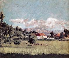 Pierre Bonnard-1888 vers paysage du dauphiné by BoFransson, via Flickr