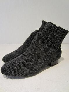 BLESS knit boots