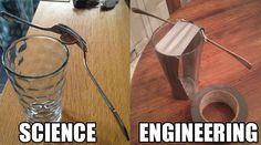 Science Vs. Engineering