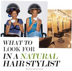 I don't trust ANYONE with my hair because I know how fragile it is (and I have had plenty of terrible experiences), but here are some good tips if you insist on having a stylist.