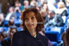 Paris : Audrey Azoulay à l'avant-première du documentaire Femmes contre Daech - A la une - via Citizenside France. Copyright : Christophe BONNET - Agence73Bis