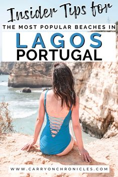 Lagos, Portugal is home to stunning beaches, each with something unique to offer. To help you decide which Lagos beach to visit next, here's a handy guide. #lagos #lagosportugal #algarve #portugal #lagosportugalbeaches