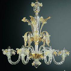 Lámparas de cristal de Murano Clásicas