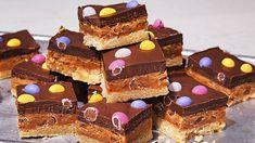 Image: Millionaire's Easter shortbread