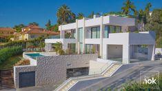 #modernvillac #modern_villa_design #villa_design #villa #modern_villa www.modernvillaco.com +989121050775 +982126761752 Villas, Modern Villa Design, Spain, Mansions, Contemporary, Madrid, House Styles, Home Decor, Villa Design
