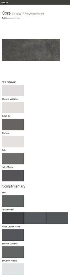 Core. SlimLite™ Porcelain Panels. Linear and plank. Daltile.