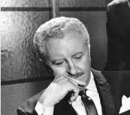 David White (April 4, 1916 – November 27, 1990). Born in Denver, CO. Graduated from Los Angeles City College. Served in the U.S. Marine Corps during WW II. Stage, film and television actor best known for his role as Larry Tate in the television series Bewitched.