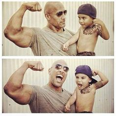 """This Photo Of Dwayne """"The Rock"""" Johnson Is Everything You Need To Know About The The Rock – Dwayne Johnson The Rock Dwayne Johnson, Rock Johnson, Dwayne The Rock, Dwane Johnson, Challenge, Lose Weight Quick, Role Models, Beautiful Men, Beautiful People"""