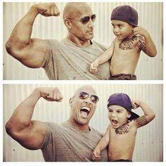 The Rock - Dwayne Johnson #celebrities