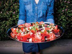 Watermelon Feta Salad with Thai Vinaigrette | SAVEUR