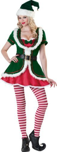 Red Green Holiday Honey Adult Christmas Party Theme Costume Size- S/M/L/XL
