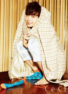Lee Jong Suk Korean actor I hear your voice, School 2013 Ceci Fashion male model