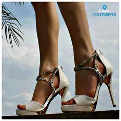 salto alto - white - heels - branco - party shoes - Ref. 14-19001 - Verão 2015