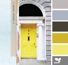 Everyone should have a beautiful color for their front door!