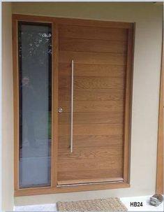 Resultado de imagen para modern wood front doors
