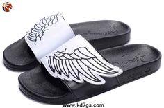 Adidas X Jeremy Scott Wings Sandals White Black