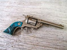 Vintage 1950's Colt 38 Gun by PocketFullOfHeirloom - Blair has one in her collection. She likes it too much to use it in the field