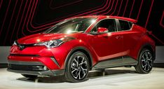 Toyota Launches US-Spec 2018 C-HR Compact Crossover