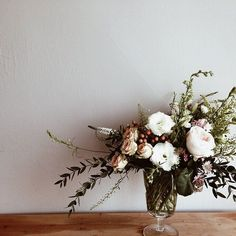 rustic and wild arrangement #flowers