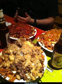 Montreal Style Poutine  FOOD PORN!!!! YUMMY!!!!