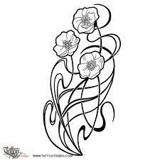 art nouveau flowers and plants - Google Search