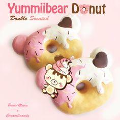 Jumbo Yummiibear Donut. Super Squishy. Double scented.