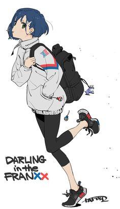 Ichigo (Darling in the FranXX) Image - Zerochan Anime Image Board Anime Girls, Kawaii Anime Girl, Manga Girl, Anime Art Girl, Fanarts Anime, Manga Anime, Character Concept, Character Art, Anim Gif