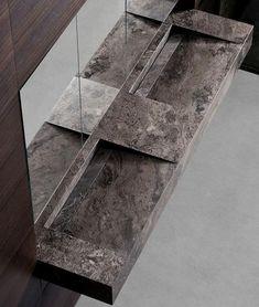 Meuble de rangement modulaire pour salle de bain - MIMESI by Habits - minotti cucine