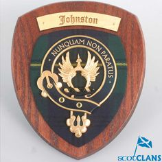 Johnstone Clan Crest