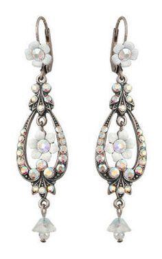 Setty Gallery - Michal Negrin Jewelry Silver Bell Flower Hook Earrings, $92 (http://www.settygallery.com/michal-negrin/michal-negrin-jewelry-silver-bell-flower-hook-earrings/)