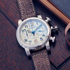 Graham Vintage Silverstone Vintage 44 Chronograph Watch #BestWatches, #stylish, #vintage